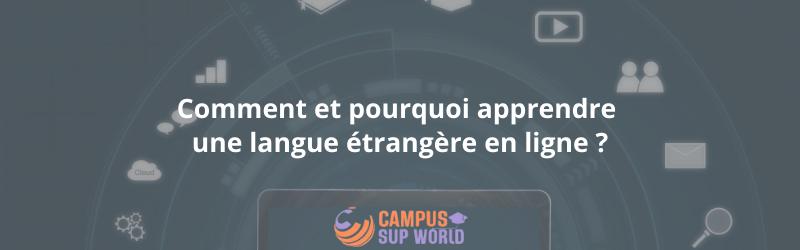 Comment et pourquoi apprendre une langue étrangère en ligne ?
