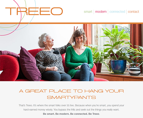 Treeo Senior Living - Website