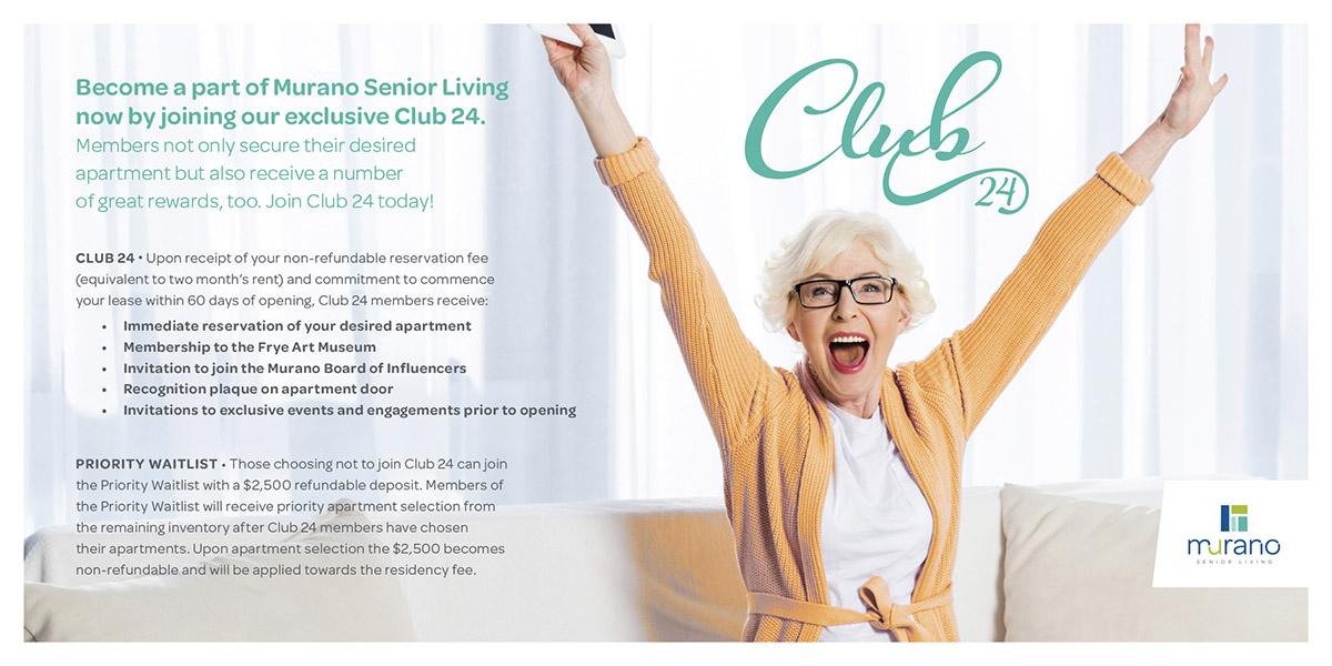 Murano Senior Living - Early Depositor Program