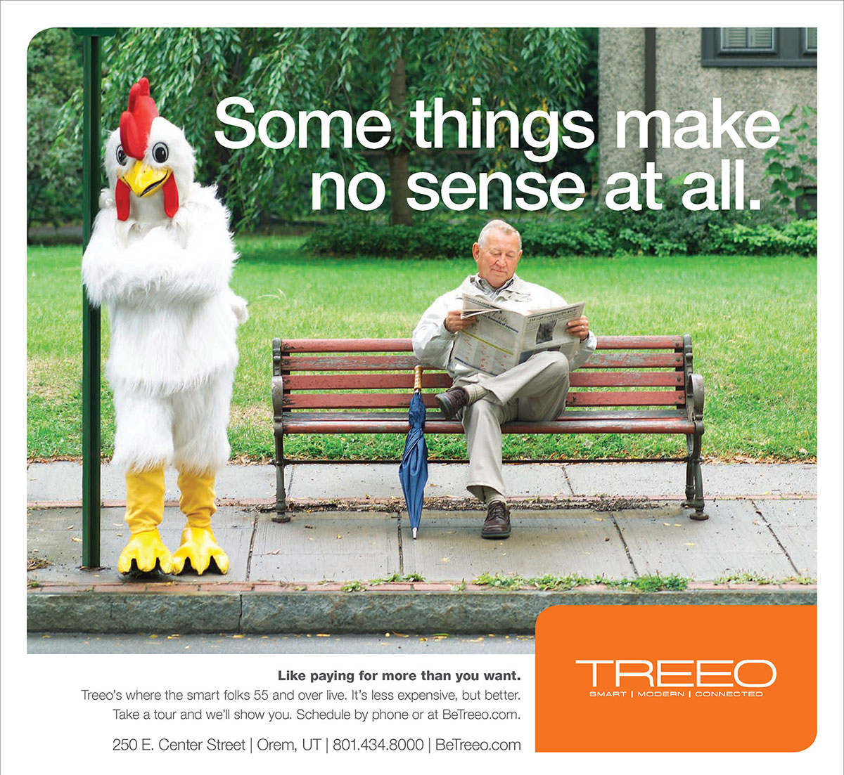 Treeo Senior Living - Chicken Ad