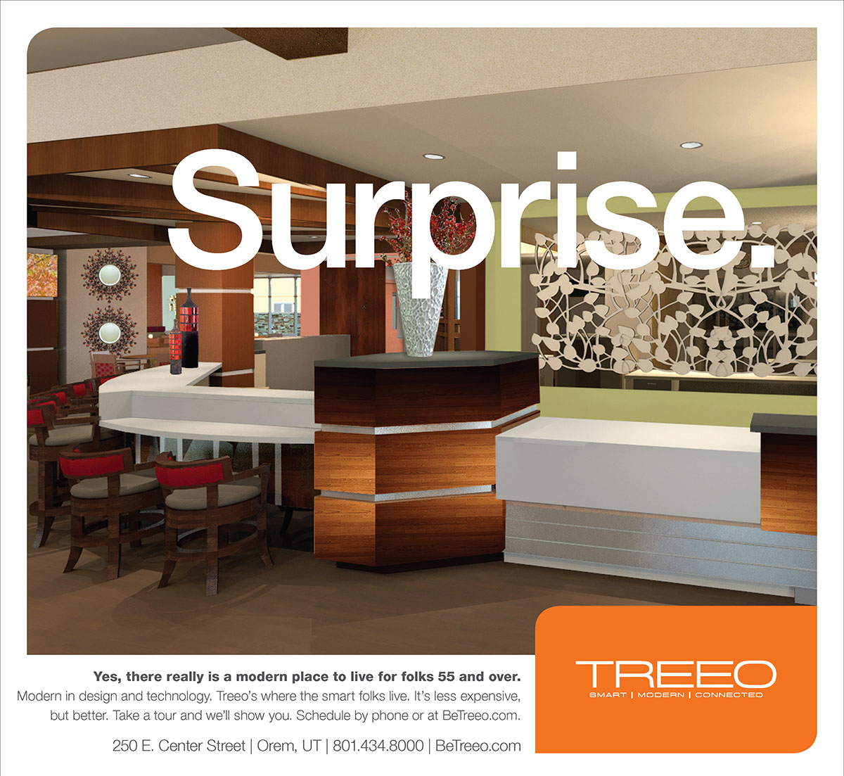 Treeo Senior Living - Surprise Ad
