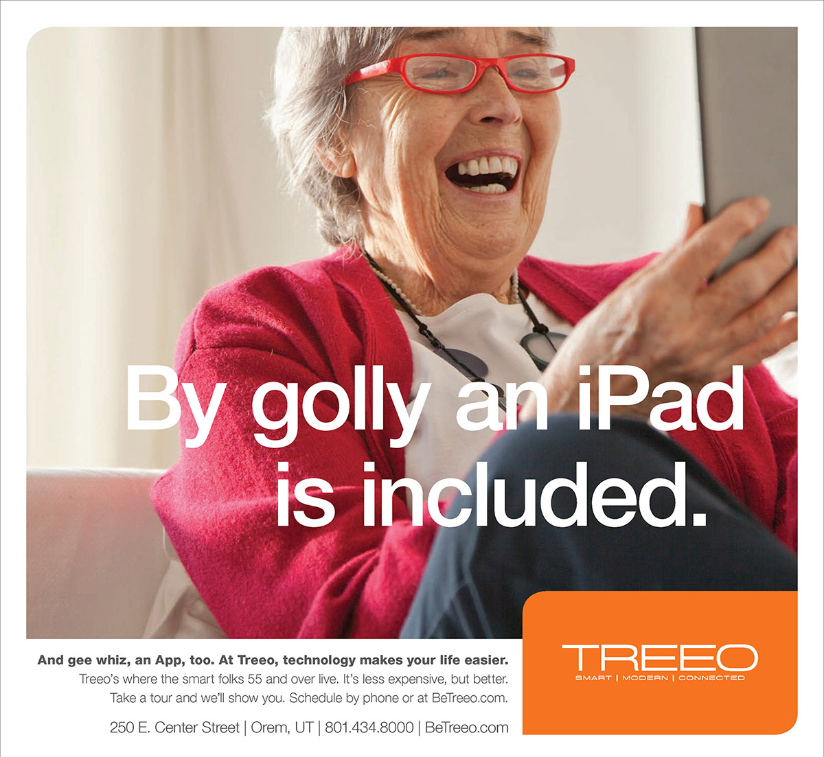 Treeo Senior Living - By Golly Ad