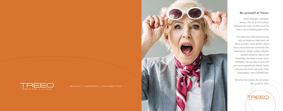 Treeo Senior Living - Print & Online Brochure