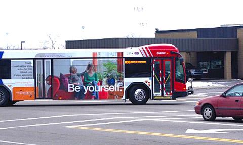Treeo Senior Living - Transit Ad