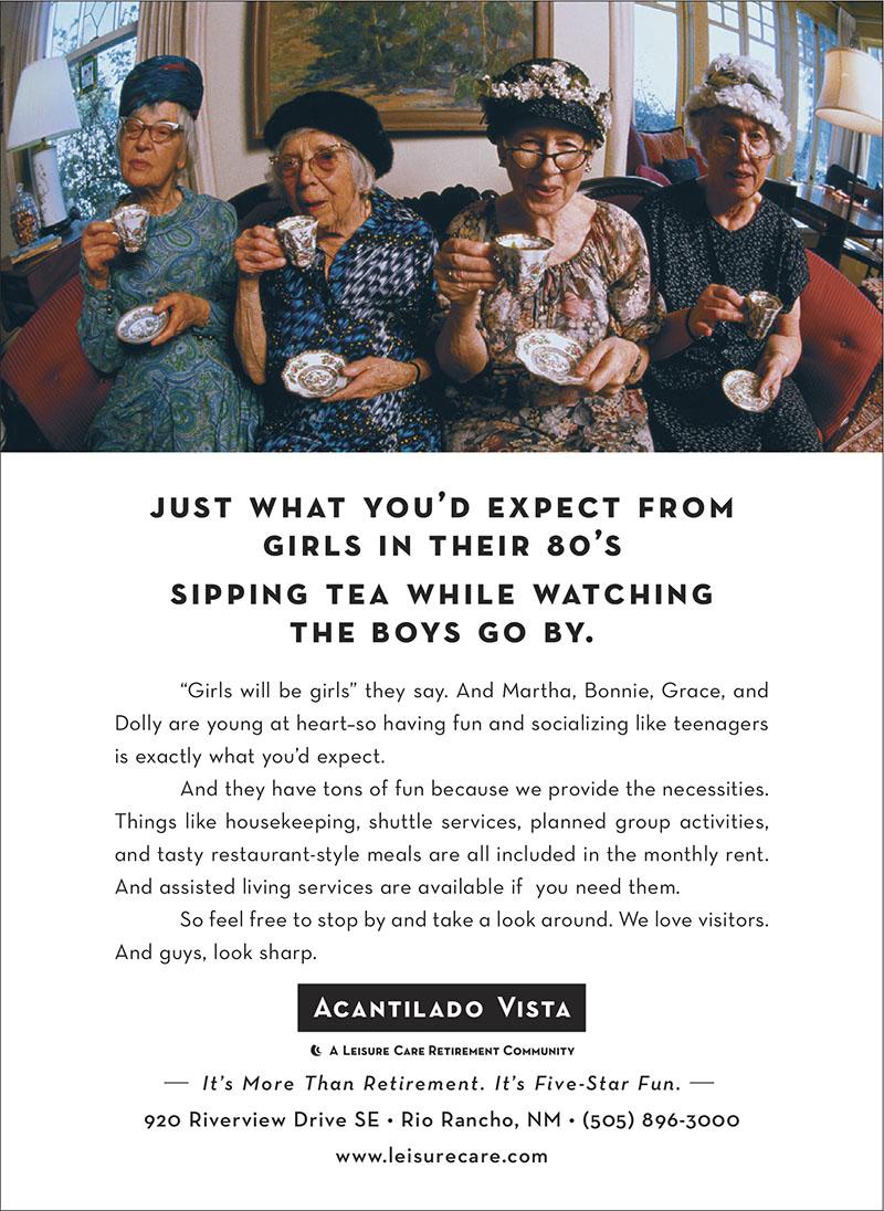 Leisure Care Retirement Communities - Ad