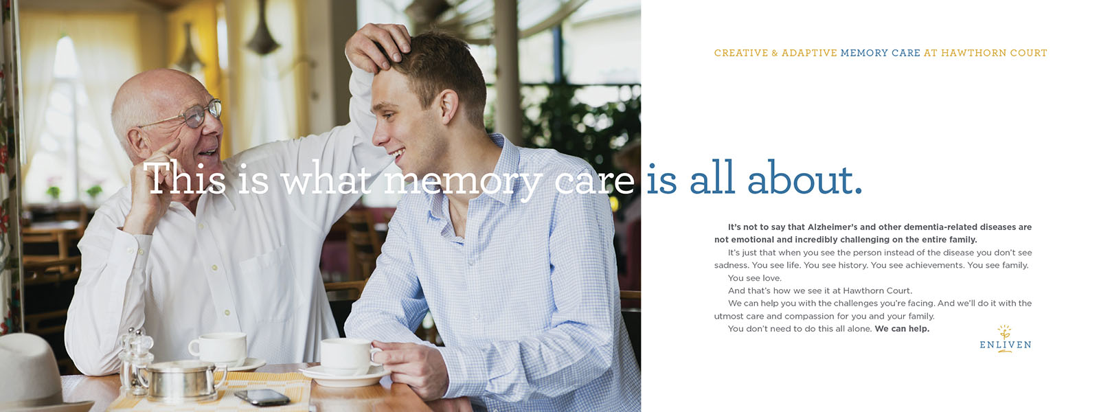 SRG Senior Living - Memory Care Marketing Brochure