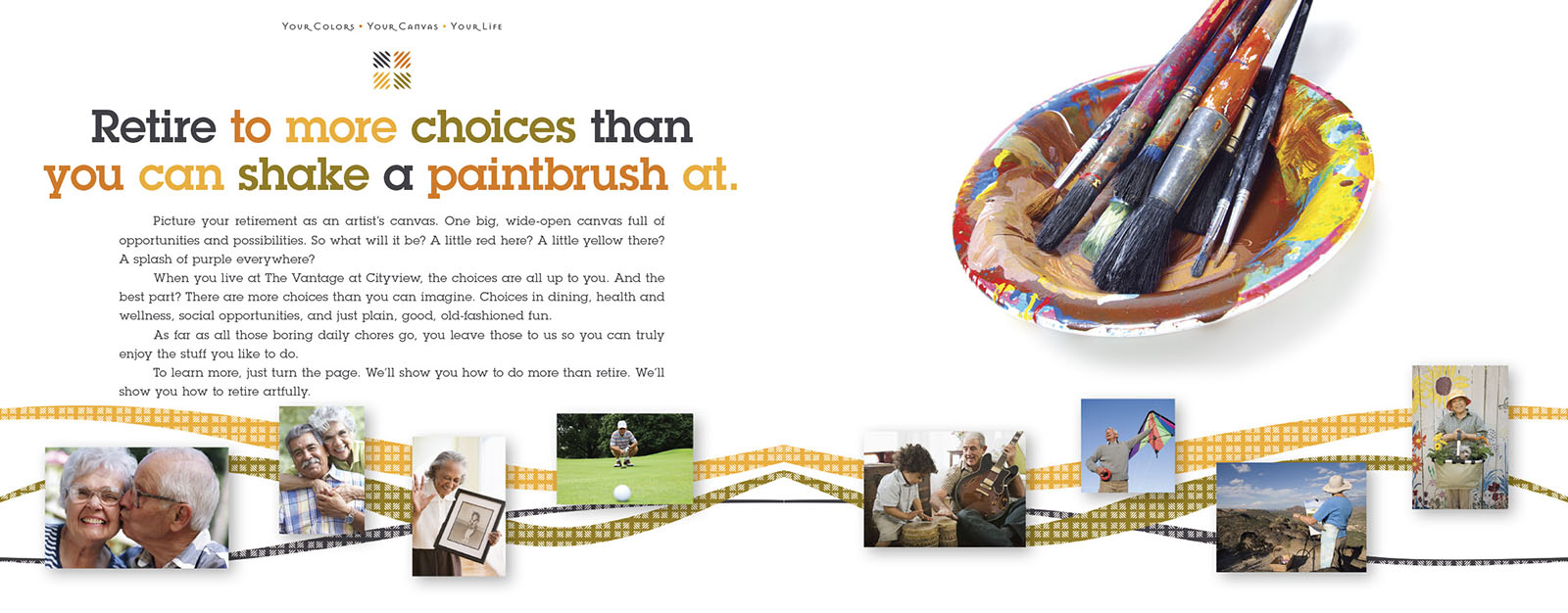 Retirement Community - Brochure Design
