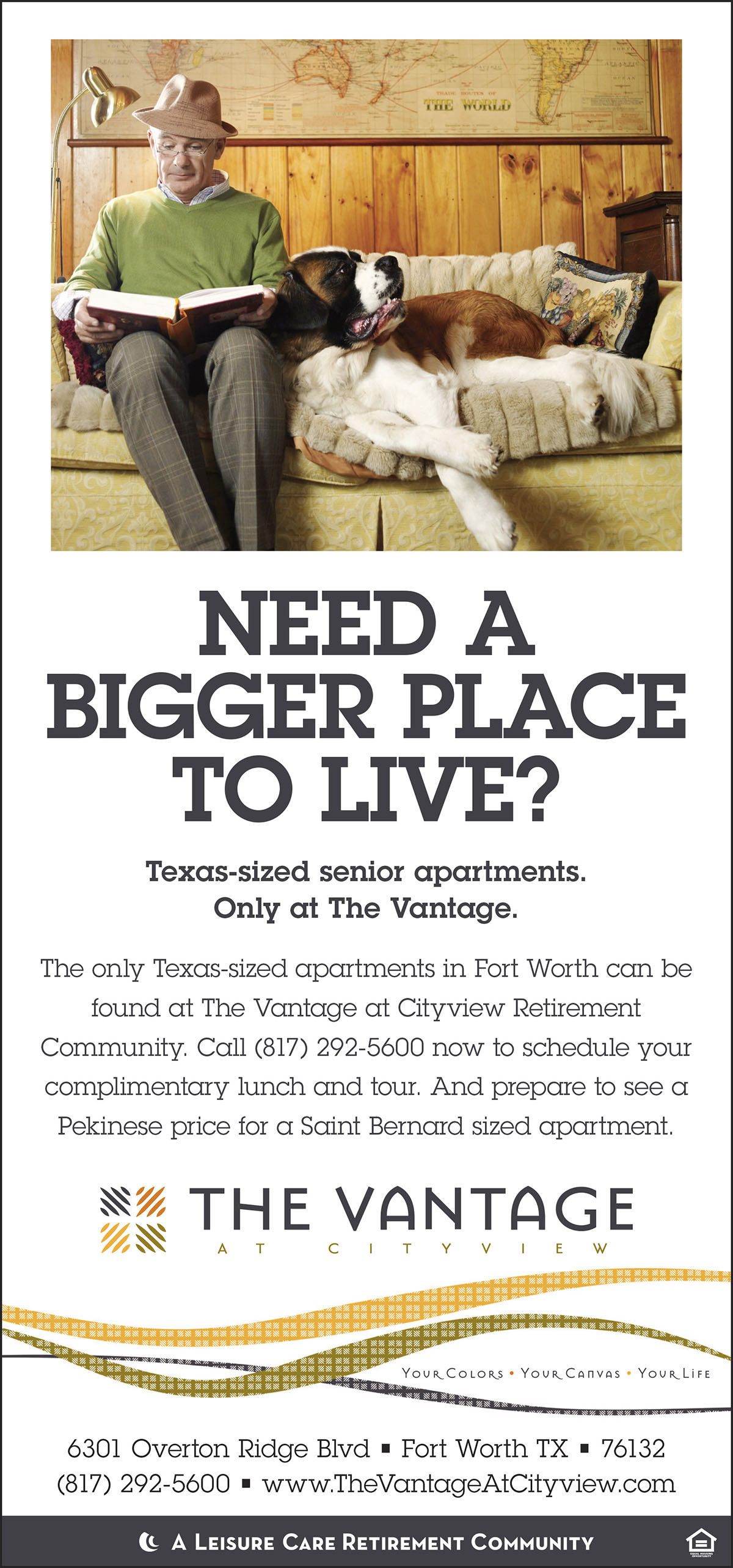 Retirement Community Ad