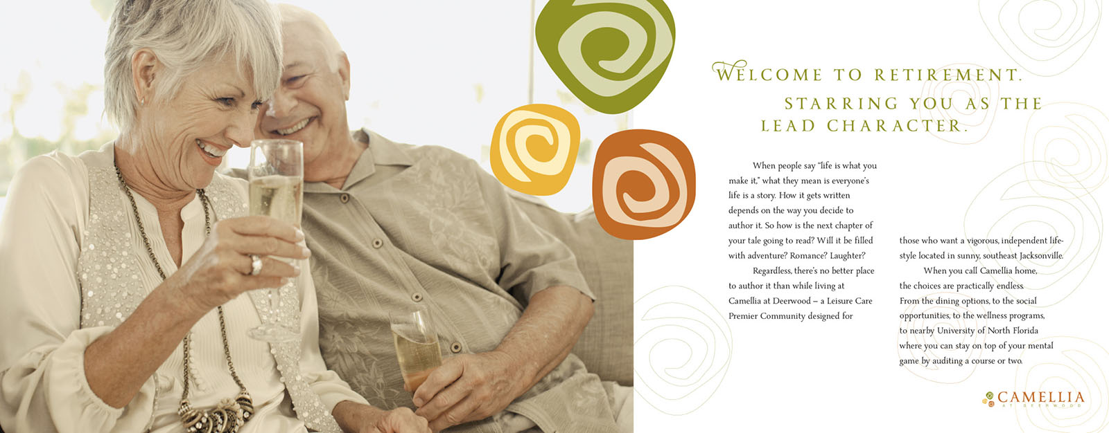 Retirement Community Brochure - Camellia