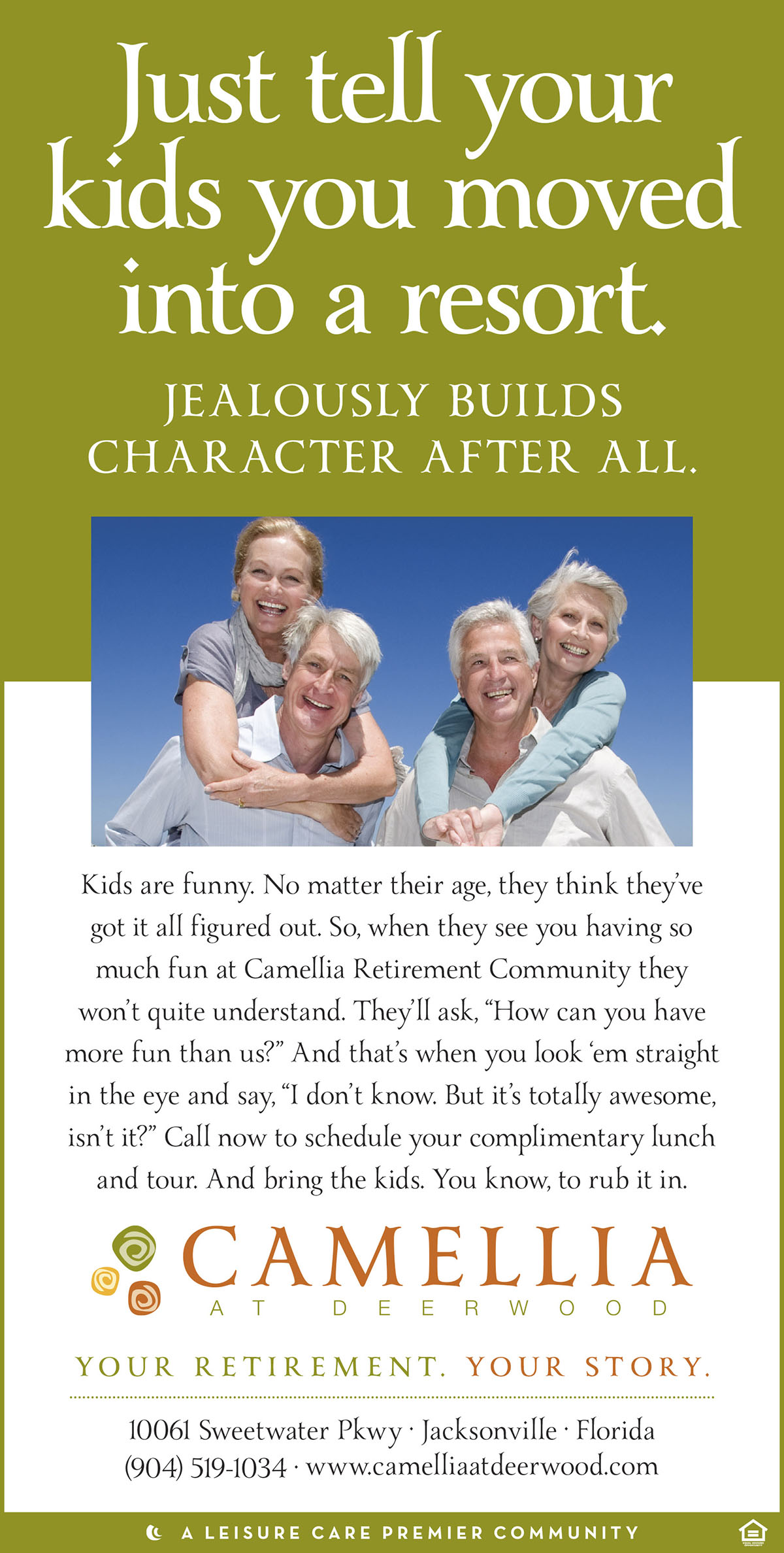 Senior Living Community - Ad