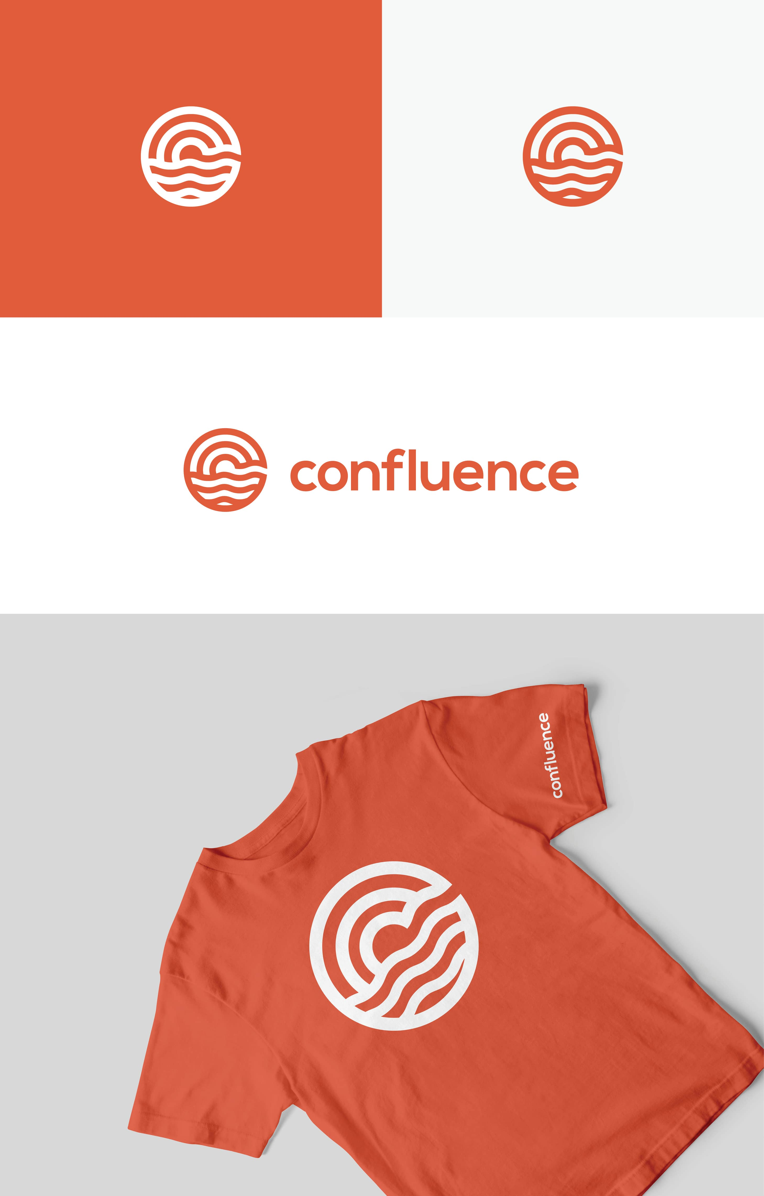 rome confluence conference logo design