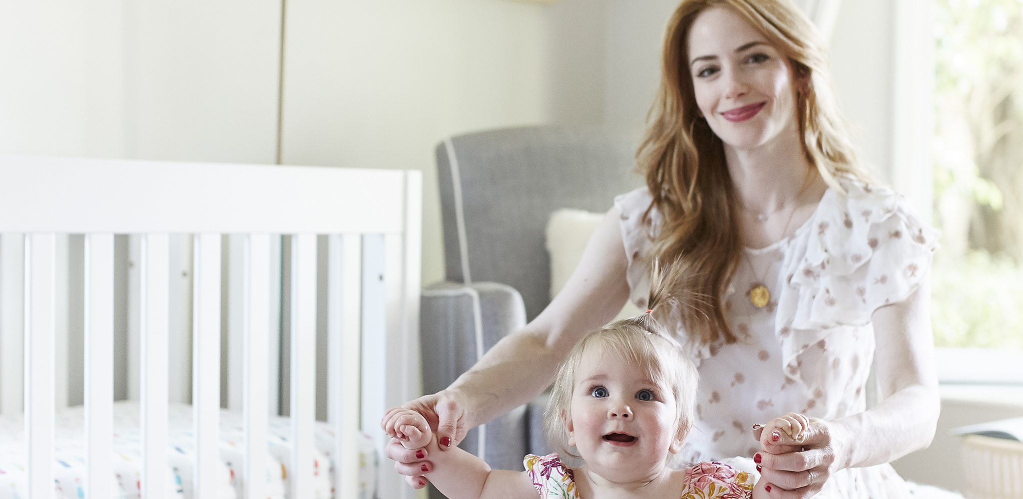 This Actress Waited Until Her Daughter Was Born to Decorate the Nursery