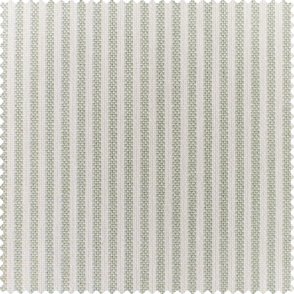 Mint Cotton Linen Stripe