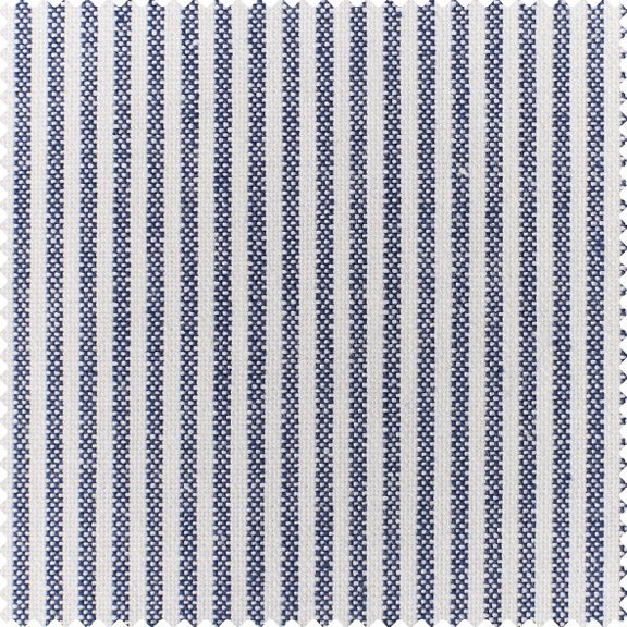 Denim Cotton Linen Stripe