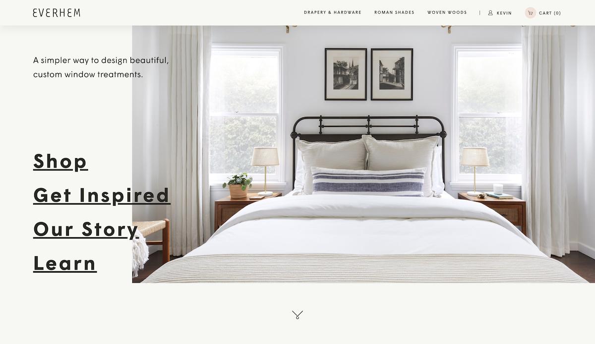 Design and Shop Custom Window Treatments | Everhem