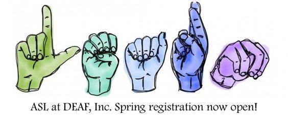 Online ASL Classes Spring 2020