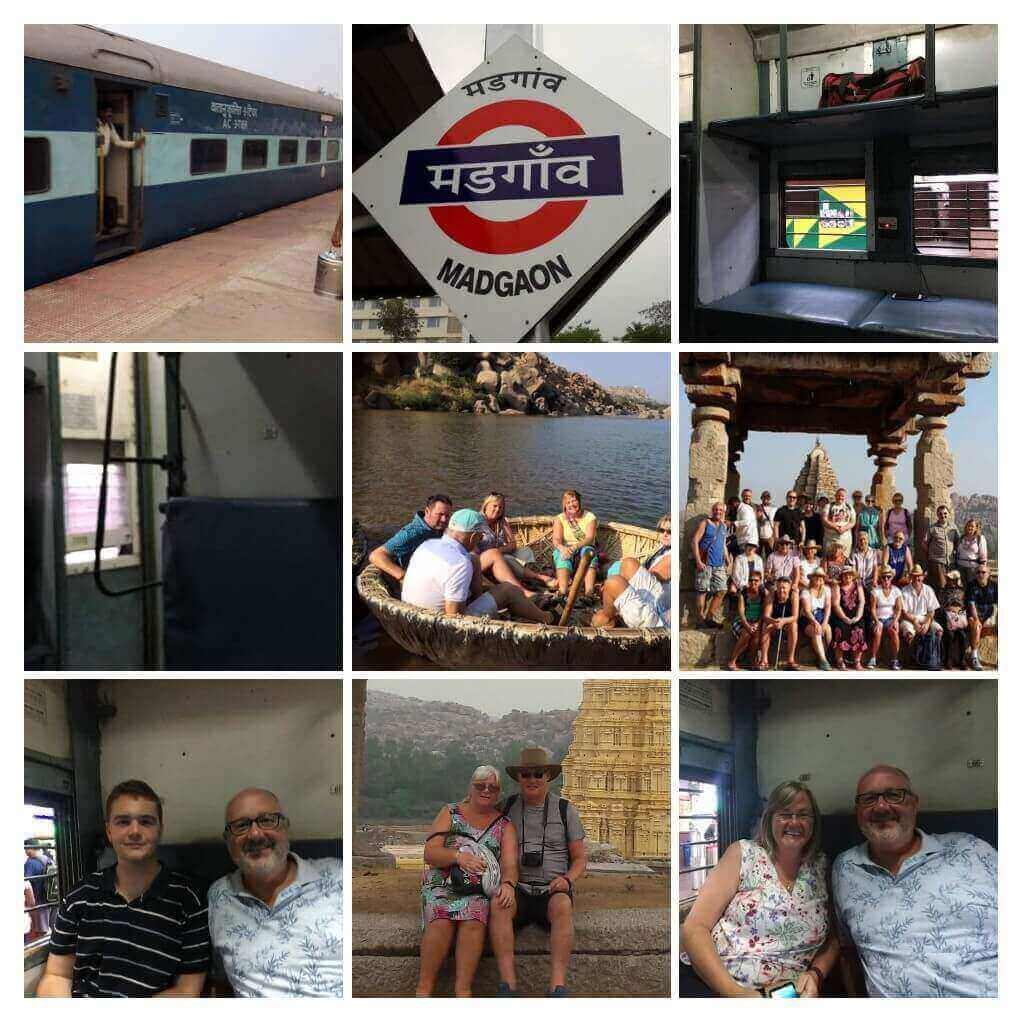 HAmpi tour photo collage