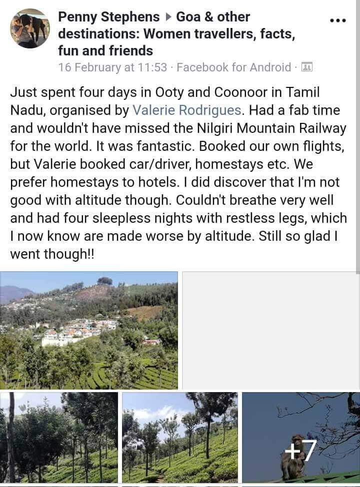 ooty-coonoor-mysoretour-reviews