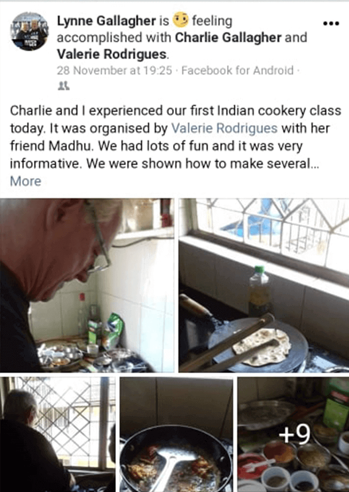 Goa cooking classes 2020