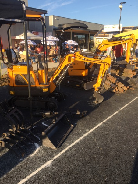 Mini Excavator RHINOCEROS  XN12 and XN18