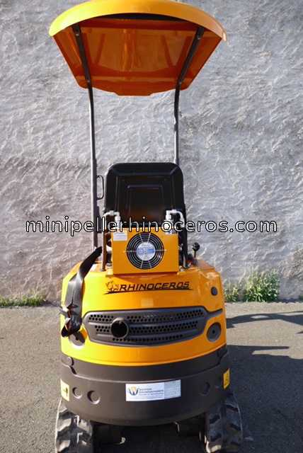 HYDRAULIC COOLER MINI EXCAVATOR RHINOCEROS XN08