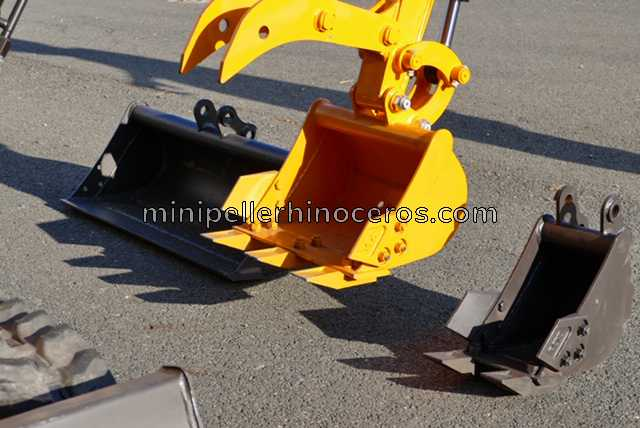 ACCESSORIES BUCKETS MINI EXCAVATOR XN08