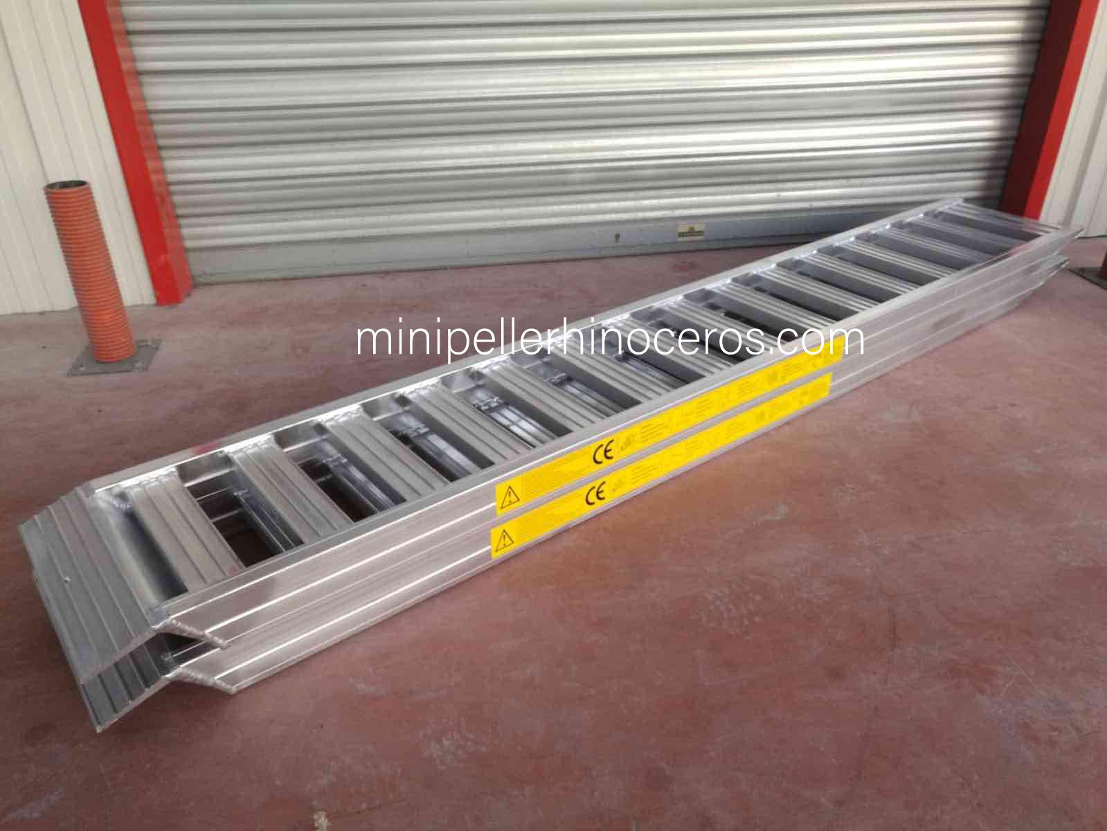 Rampes en aluminium charges lourdes