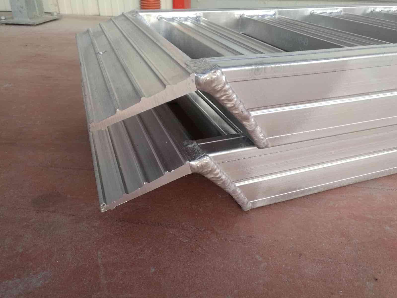 Aluminium-Rampe