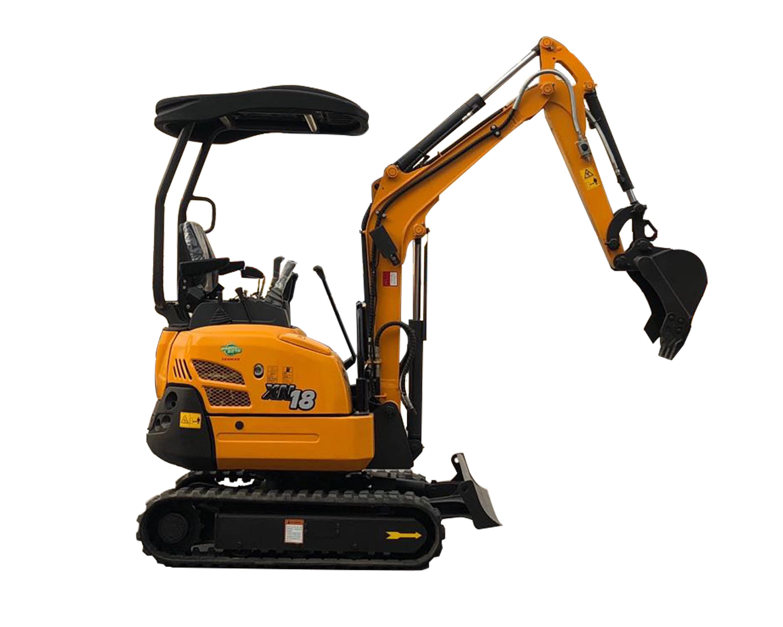 Mini Excavadora RHINOCEROS XN 18