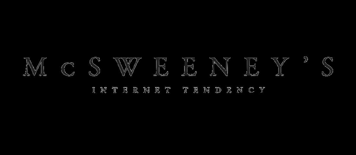 McSweeney's logo.