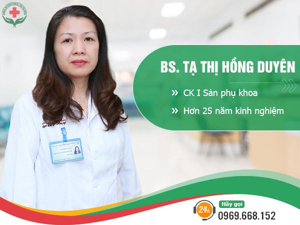 Bác sĩ điều trị bệnh xã hội Tạ thị Hồng Duyên