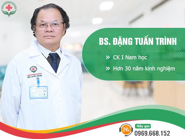 Bác sĩ điều trị bệnh xã hội Đặng Tuấn Trình