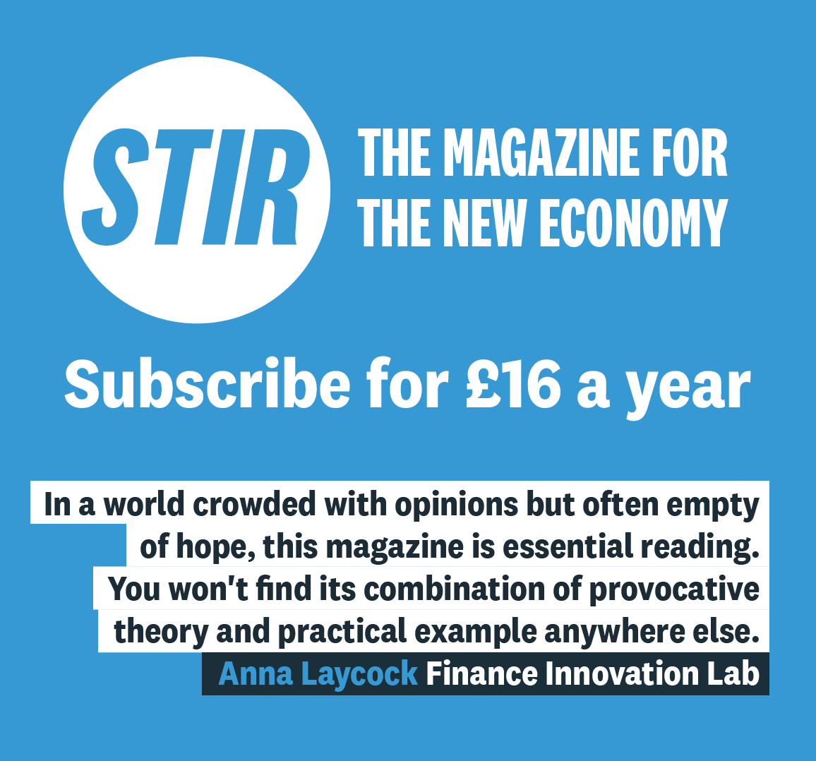 Subscribe to STIR Magazine