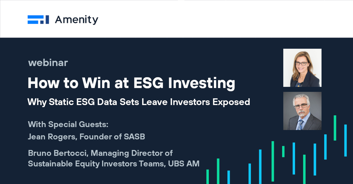 [Video] How to Win at ESG Investing Using ESG Data for Real-Time Investment Insights