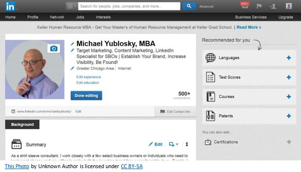 Why a LinkedIn summary is essential for sales professionals | SalesGig