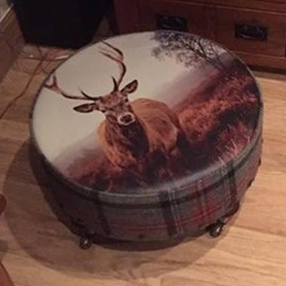 Printed footstool