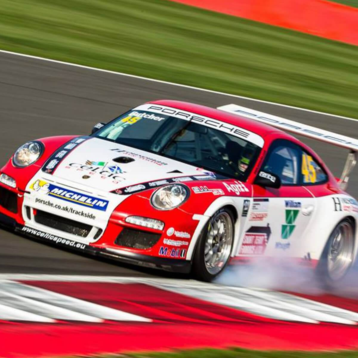 Design & Signage, racing car graphics