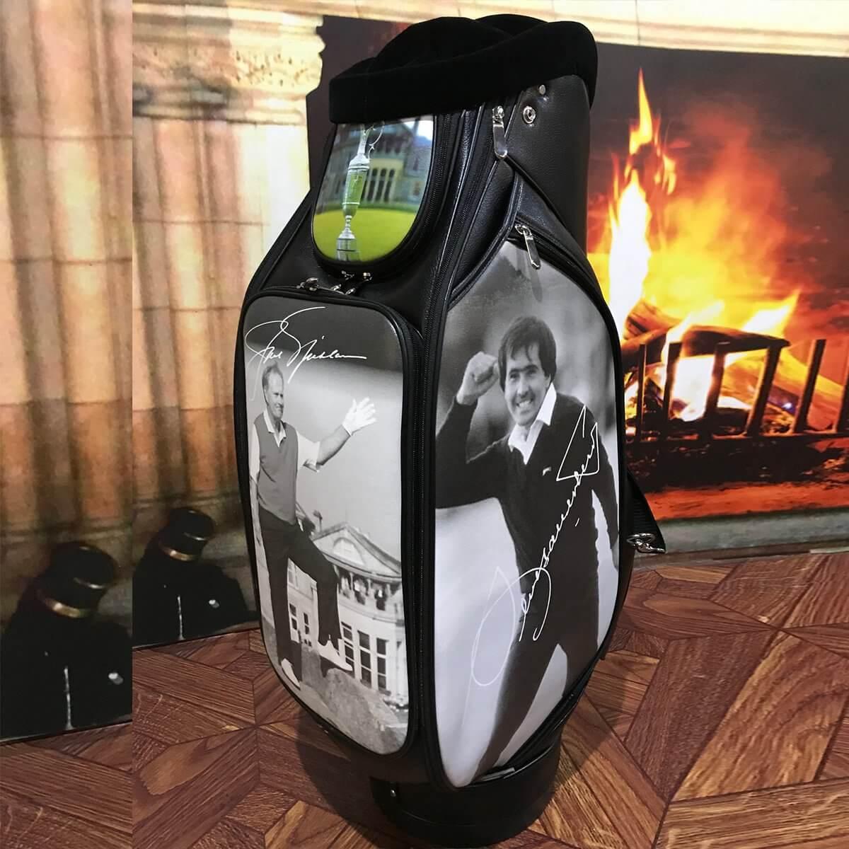 Printed golf bags