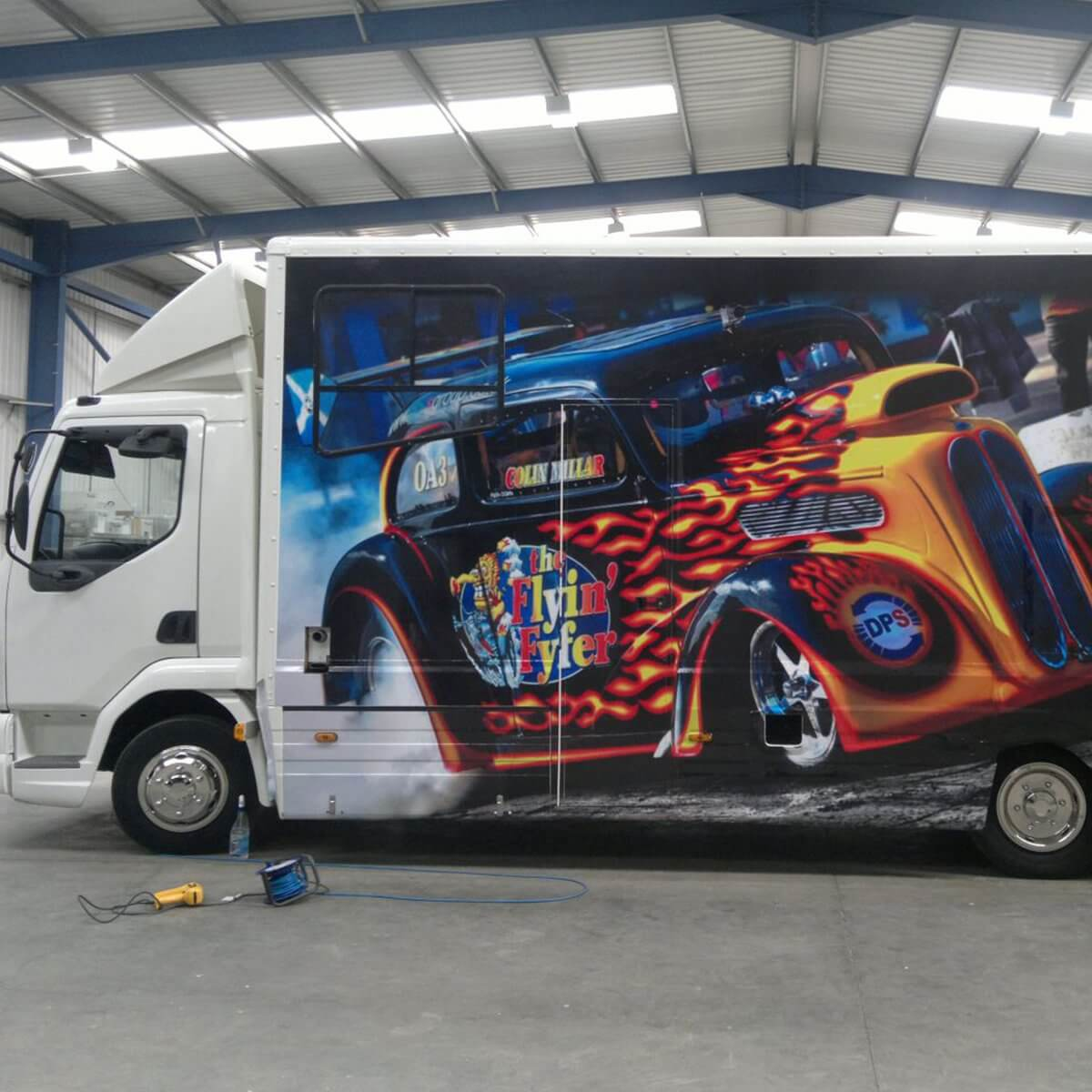 Design & Signage, vehicle Graphics