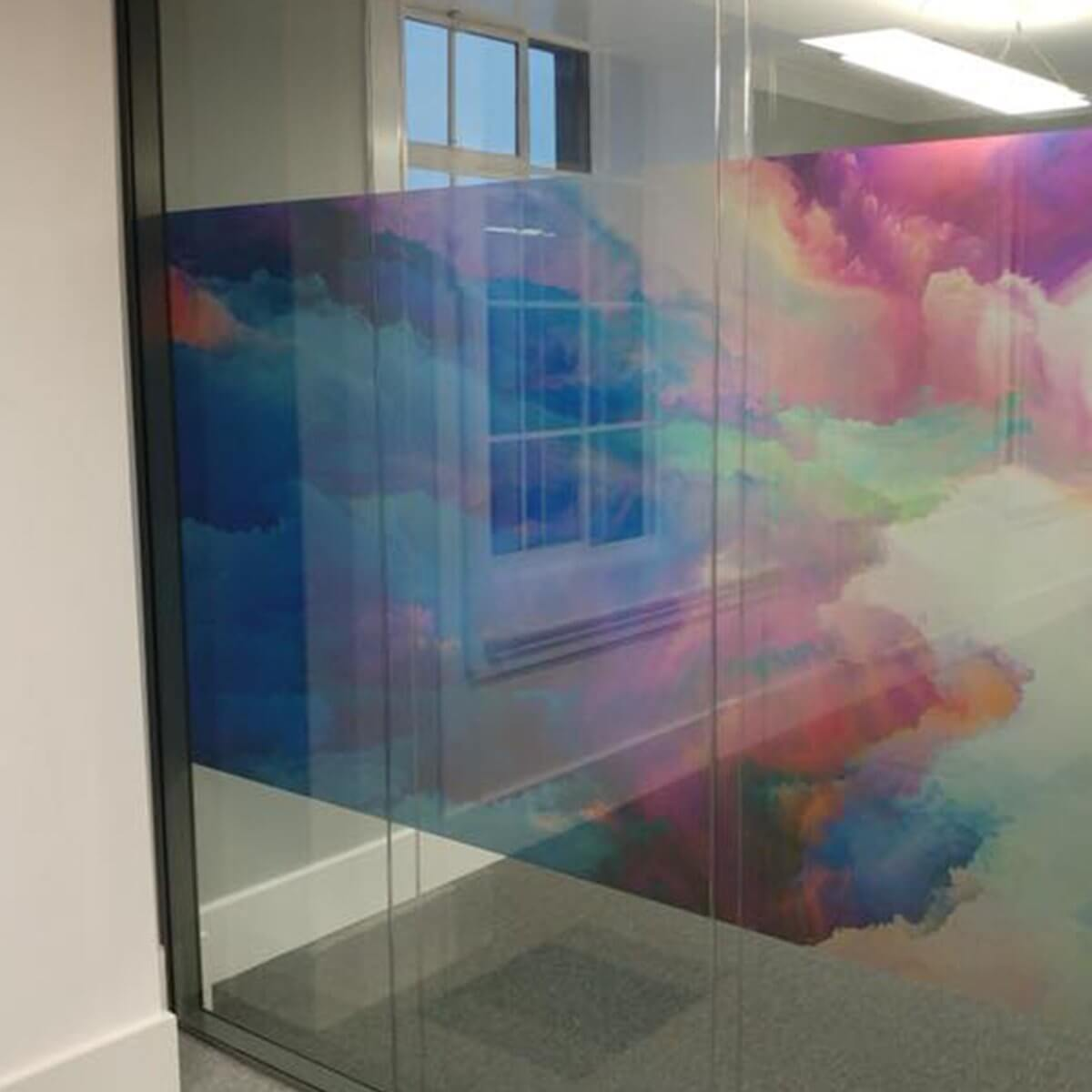 Design & Signage, Window Graphics, Frosted Windows