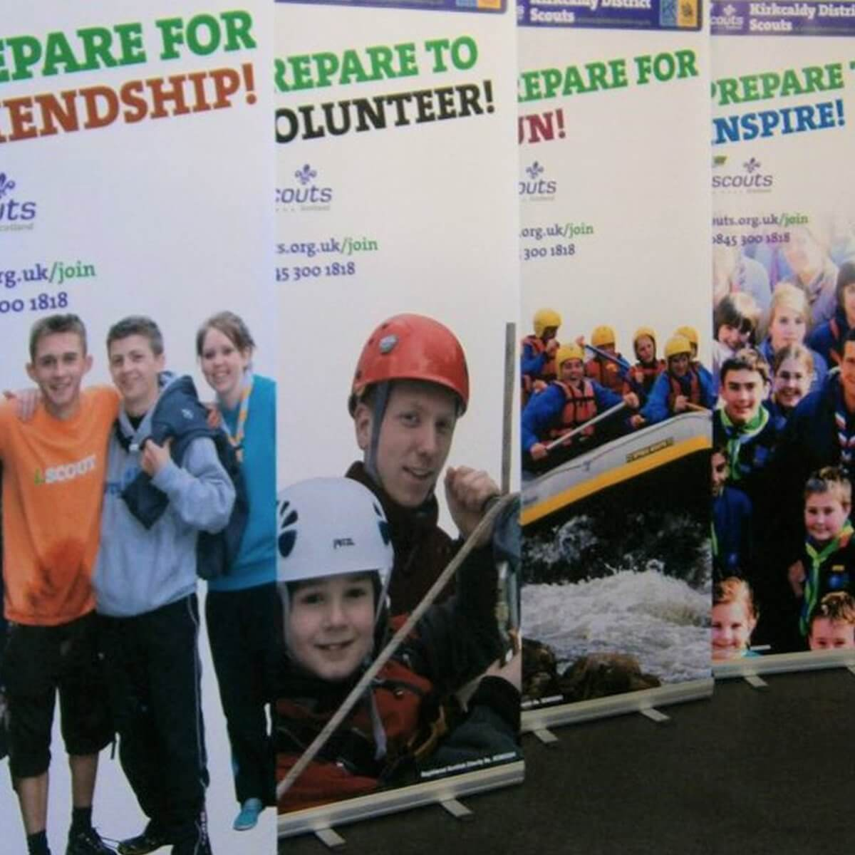 Design & Signage, Printed Displays, Banners and Backdrops