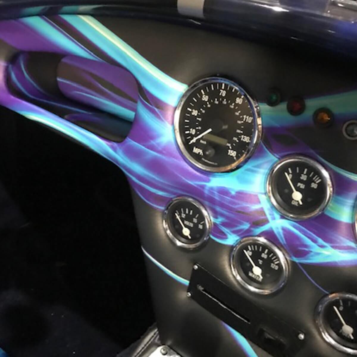 Printed Car Dashboard