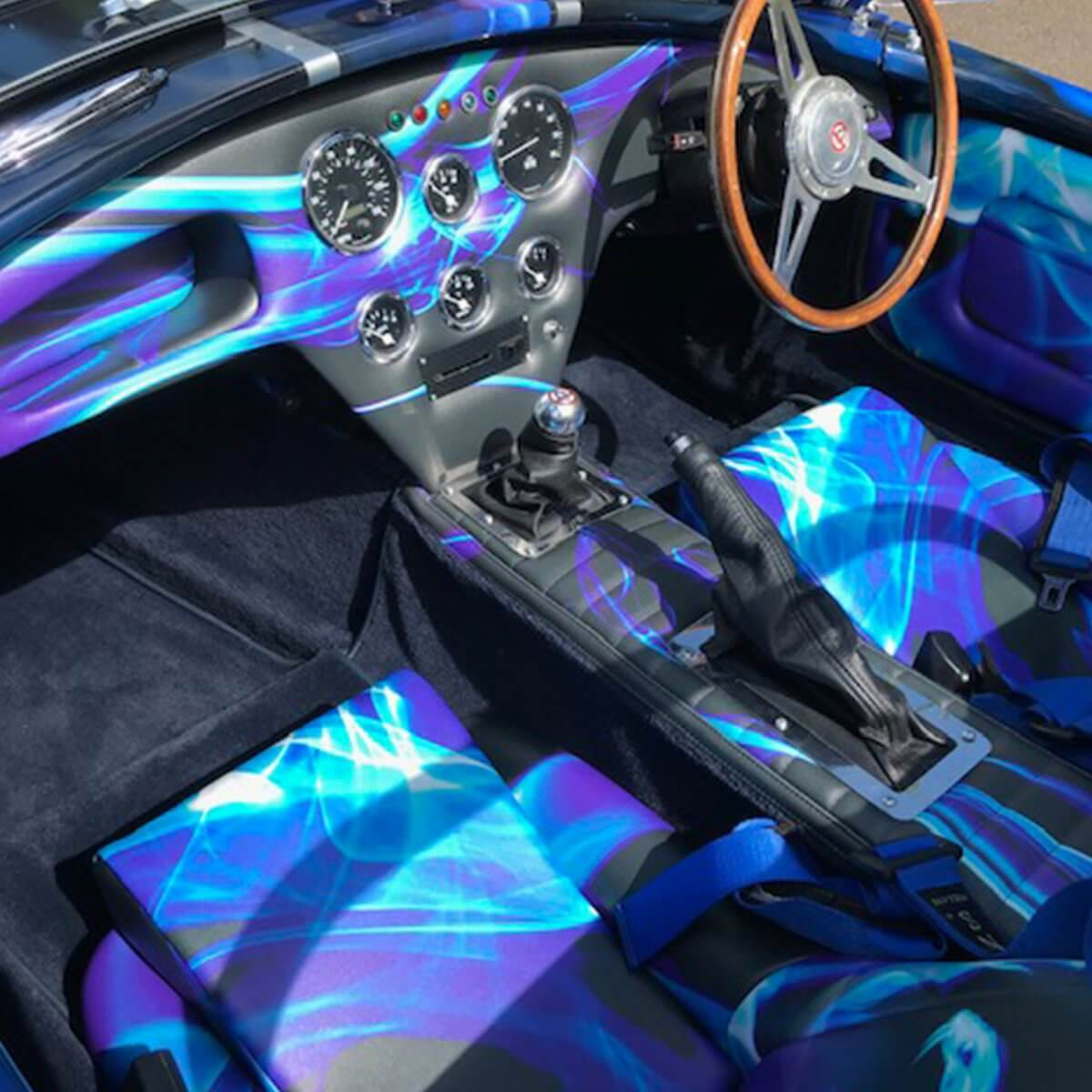 Printed Car Interiors
