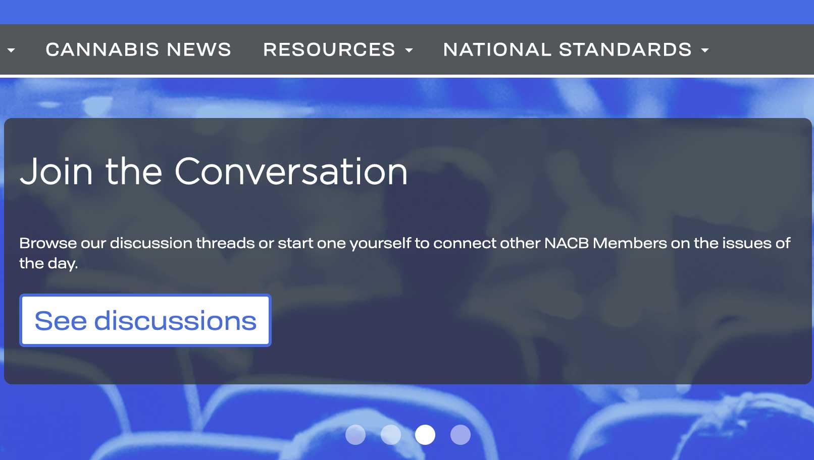 nacb cannabis association membership portal