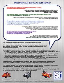SealVac Customer Testimonials