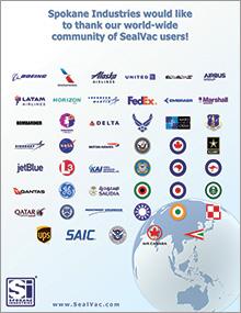 Sealvac Worldwide Customer Infographic