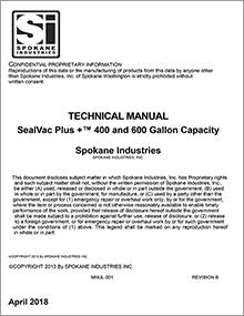 SealVac Plus+ Bowser Manual