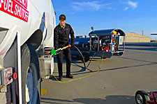 HandiFueler used to refuel truck