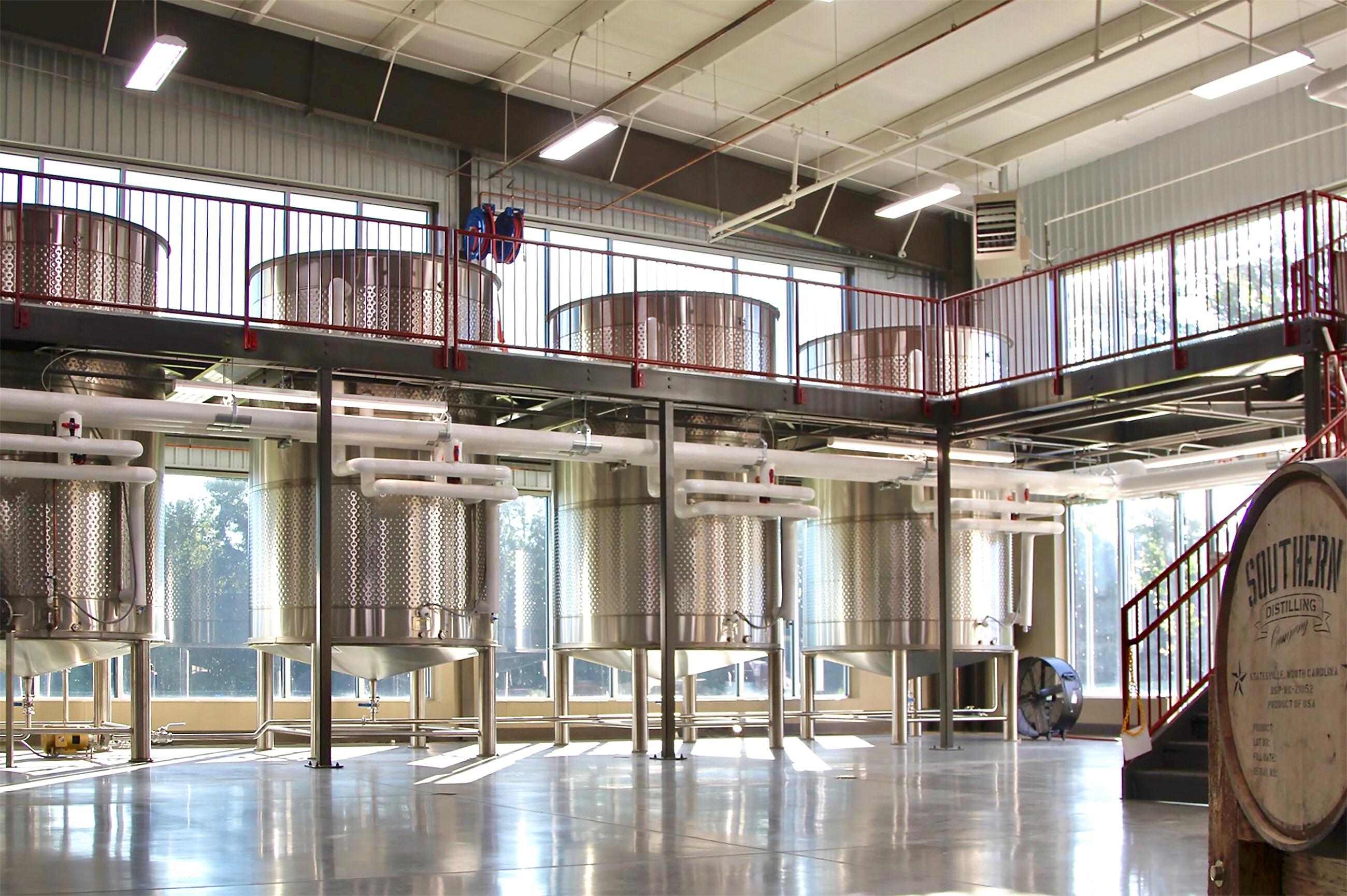 Spokane Industries Distilling Tanks at Southern Distilling
