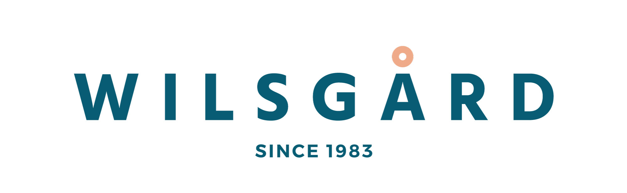Wilsgård logo in blue